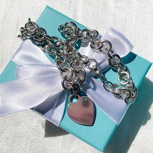 Tiffany & Co. Tiffany Hearts Heart Tag Necklace
